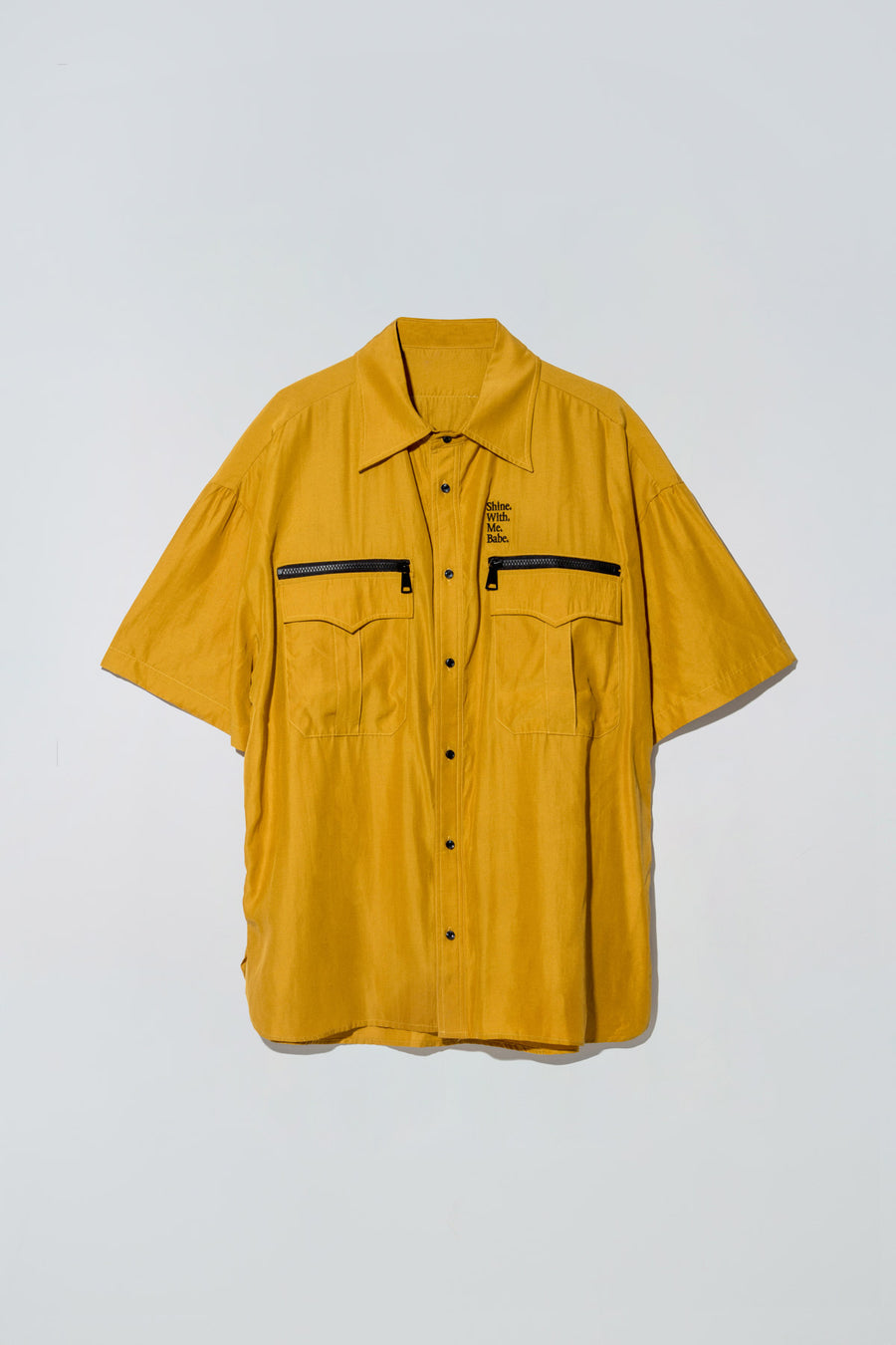 Billie Shirt Mustard Yellow