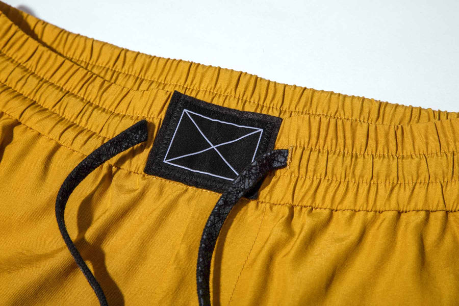 Billie Shorts Mustard Yellow