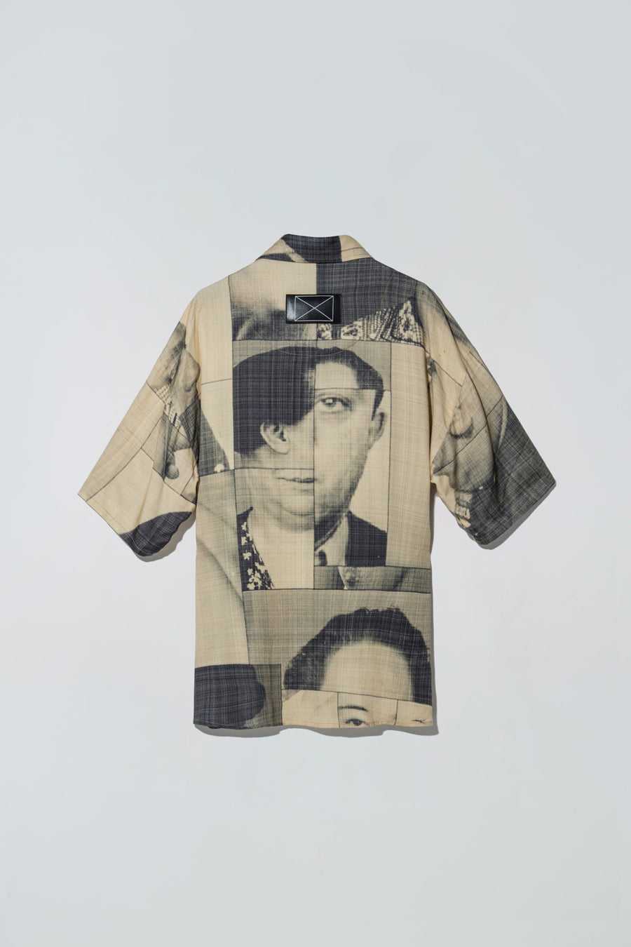 Black List Print Dazed Shirt Yellow
