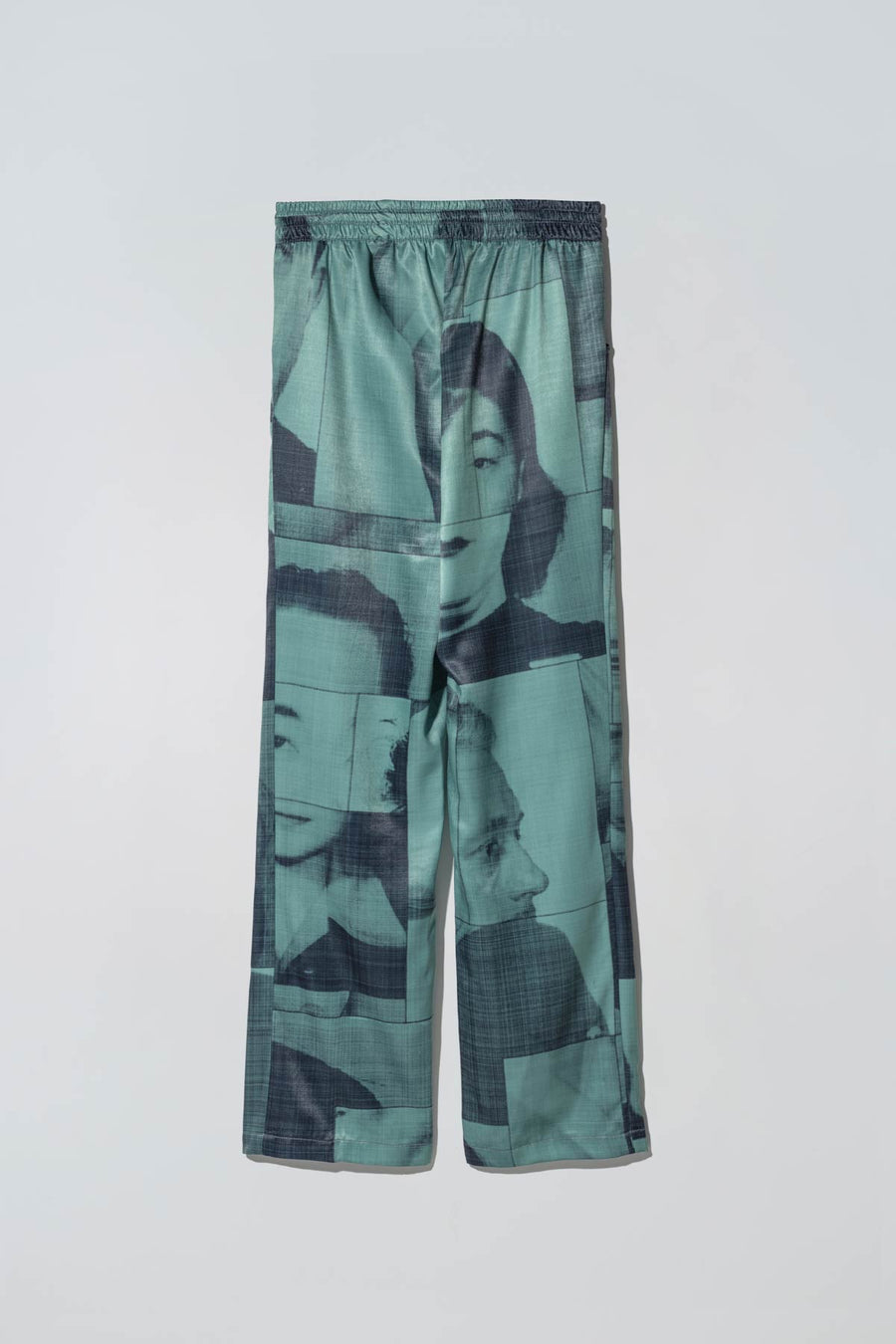 Black List Print Liberty Suitpants Green