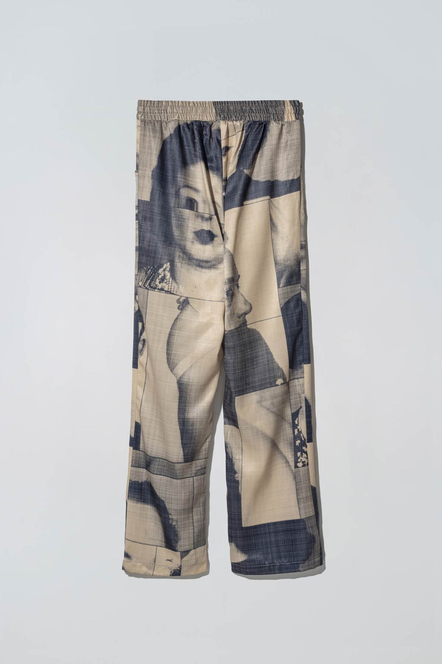 Black List Print Liberty Suitpants Yellow