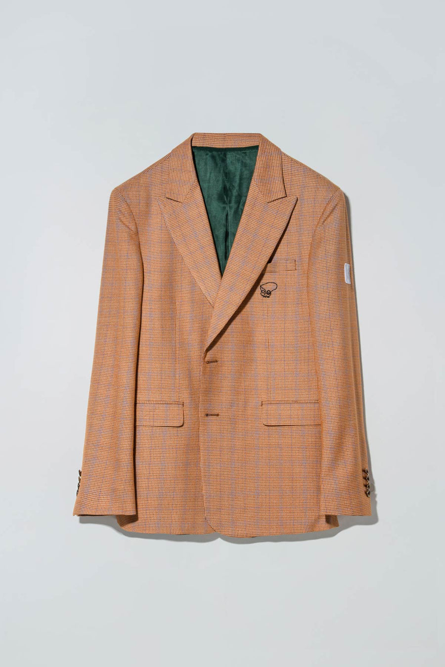 Checkerboards Insomnia Blazer Skull Edition Orange