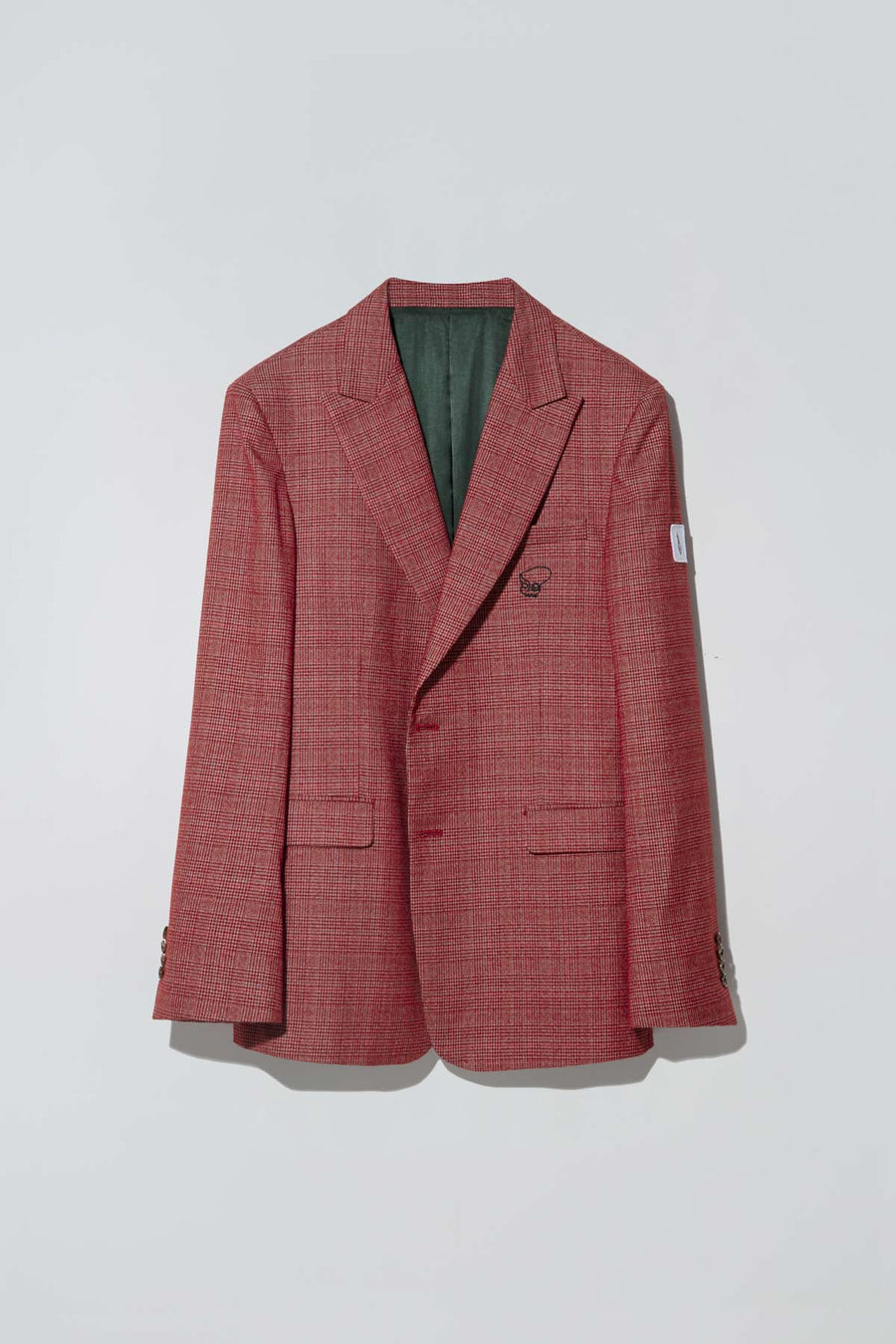 Checkerboards Insomnia Blazer Skull Edition Red