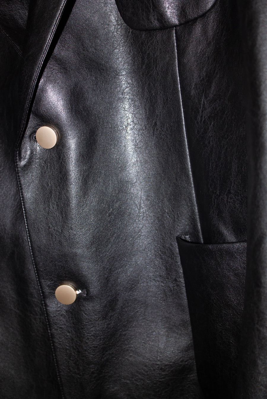 Chicago Leather Suit in Black