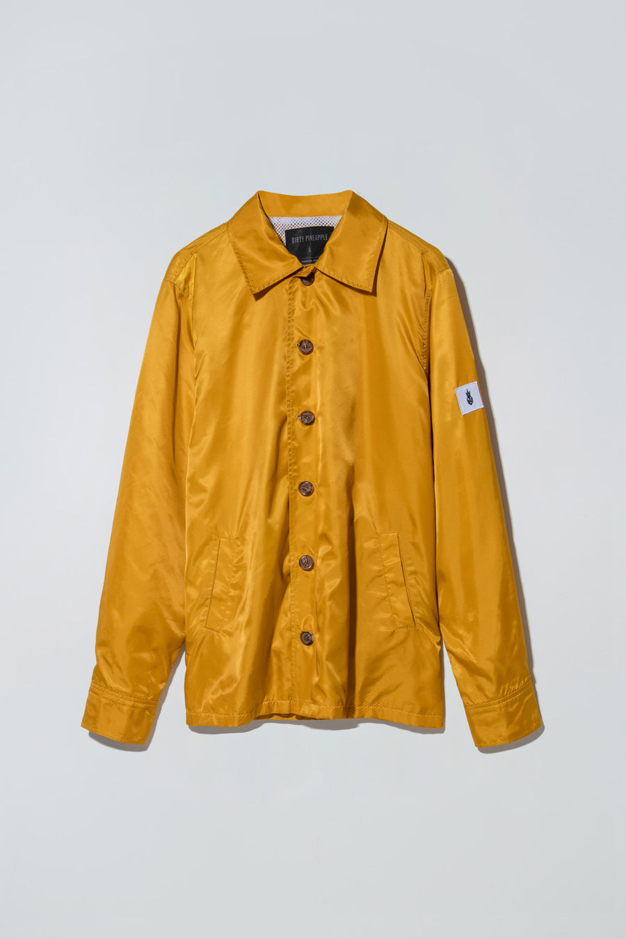 Easy Shirt Jacket Mustard Yellow