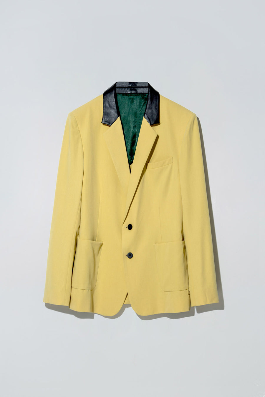 Plastic Blazer Yellow