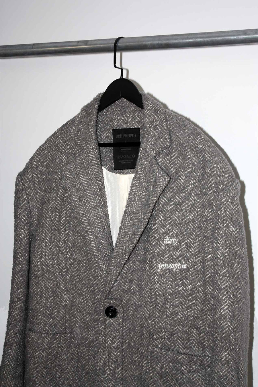 Leon Wool Coat Grey