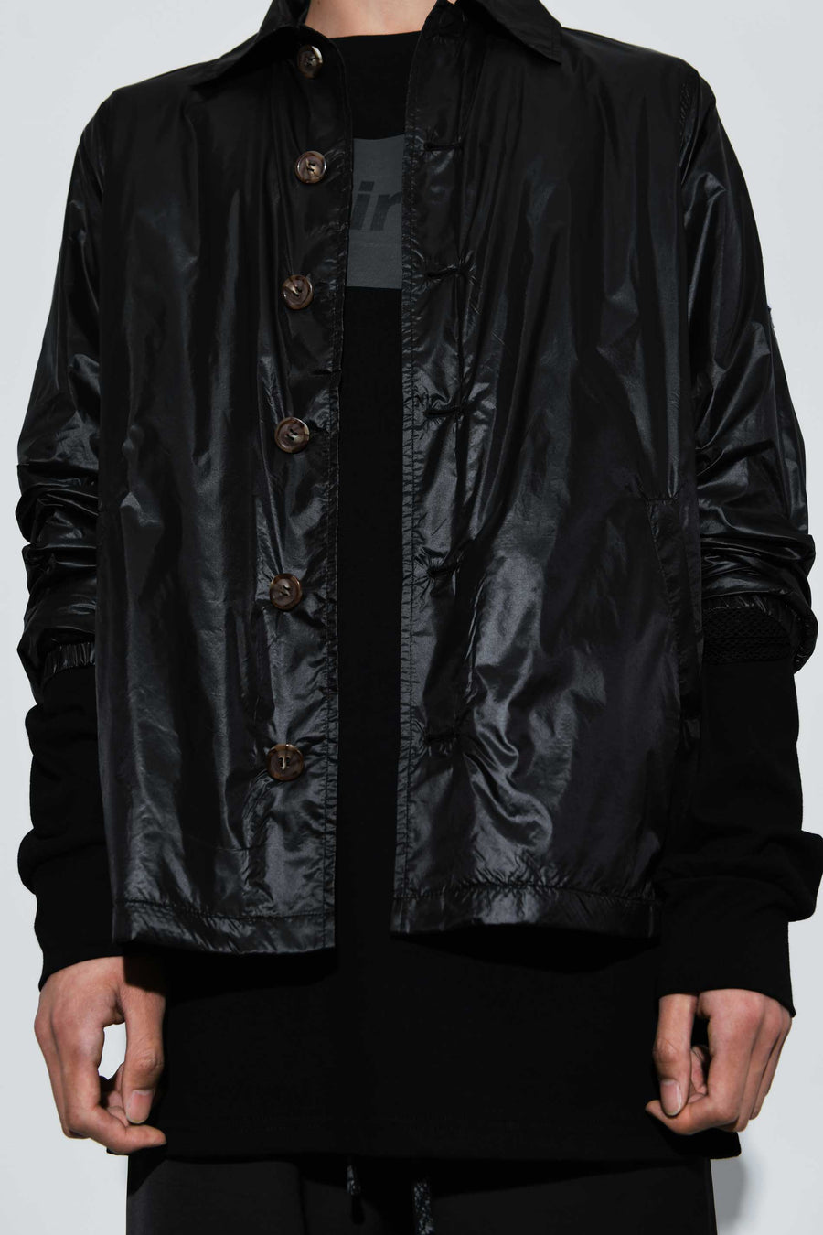 Rainfall Shirt Jacket Black