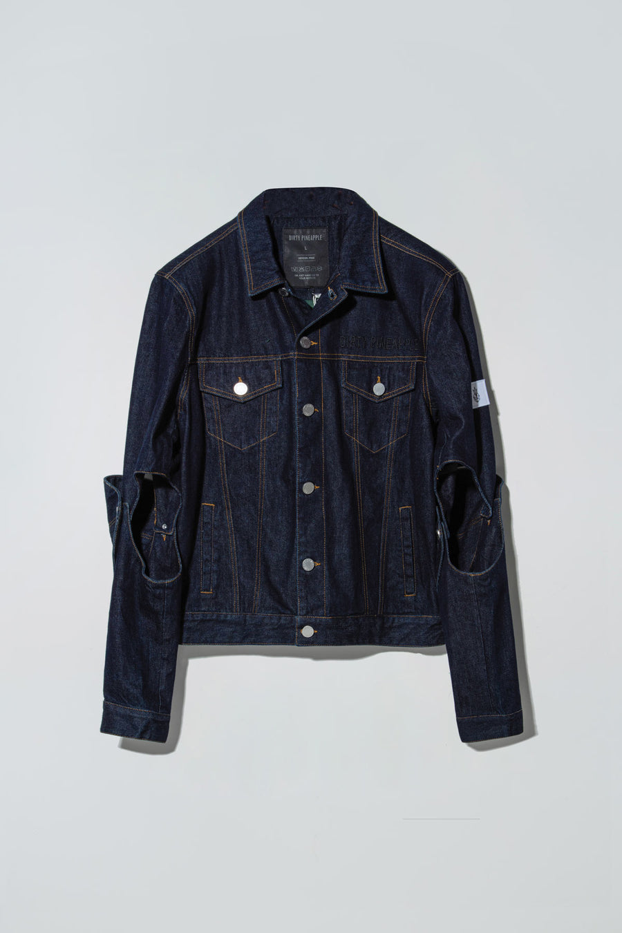 Renee Denim Suit Dark Blue