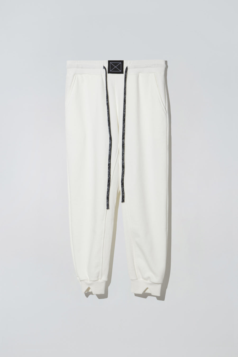 Soda Pop Sweatpants White