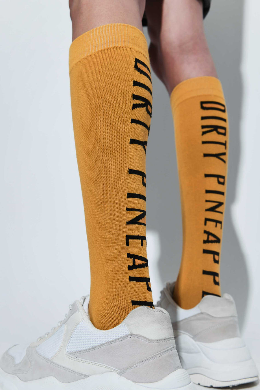 Virgin Fruit Socks Mustard Yellow