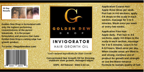 Invigorator Hair Growth Oil