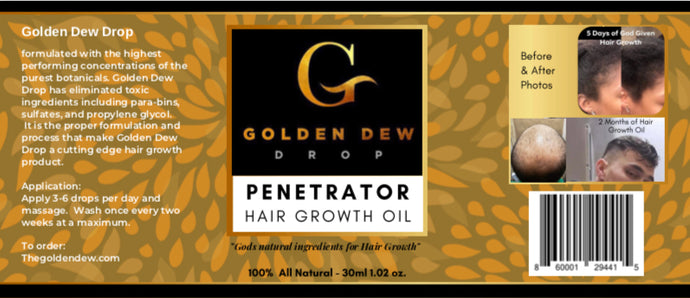 Penetrator Hair Growth Oil