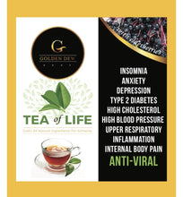 Load image into Gallery viewer, GOLDEN DEW ANTI-VIRAL TEA OF LIFE