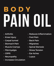Load image into Gallery viewer, XXX Body Pain Oil with patch
