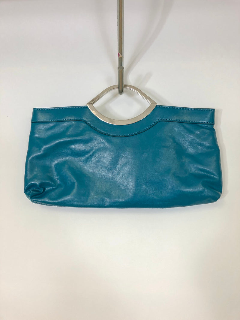 Thrifted Faux-Leather Handbag :: The Solstice Bag