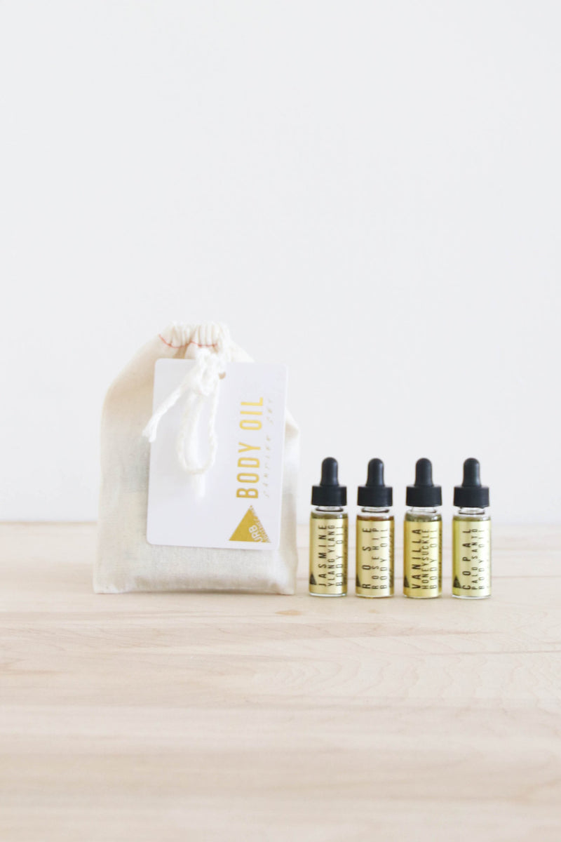 Body Oil Sampler Set