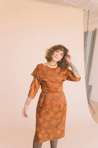 Vintage A Line Dress Suit : Small : The North End Dress Set
