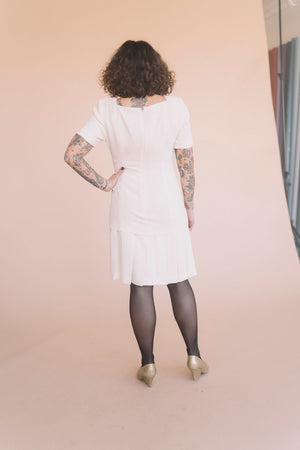 Vintage Pleated Dress : Small : The Diana Dress
