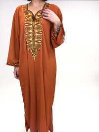 vintage Indian embroidered kaftan