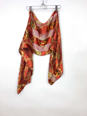 Vintage Chain Printed Scarf :: The Gang Scarf