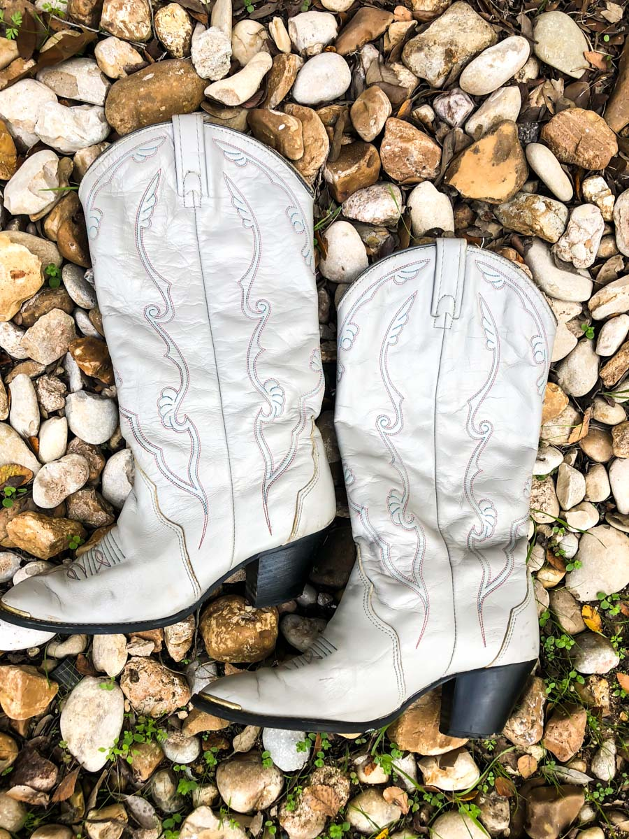 Grey Cowgirl Boots