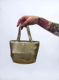 Vintage Gold Mini Handbag : The I Feel Love Bag