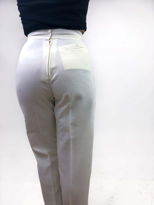 Vintage Ivory Trousers : XS : In The Mood Pant