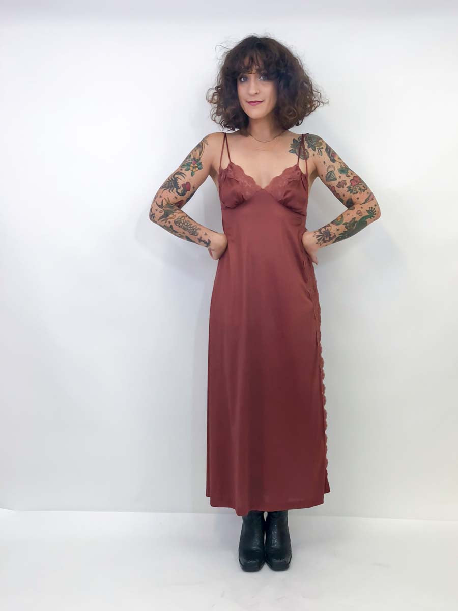 Vintage 70's Slip Dress : Small : The Taylor Slip