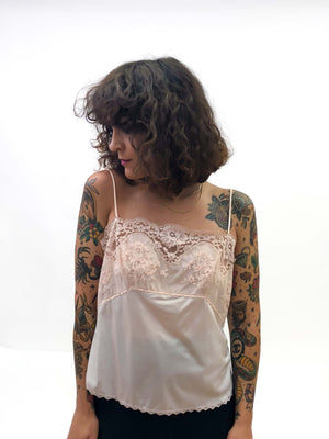 Vintage Lace Camisole : Medium : The Softie Tank