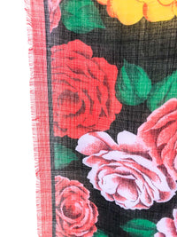 Vintage Rose Printed Bandana :: The Lone Star Scarf