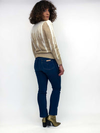 Vintage Puff Shoulder Sweater : Small : The Nannell Sweater