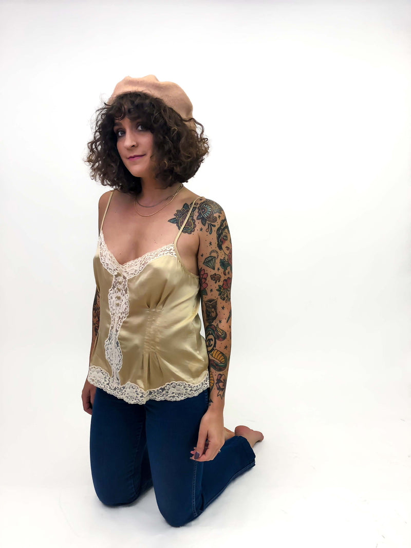 Vintage Lace Camisole : Medium