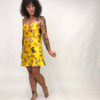 Vintage Butterfly Print Slip Dress : XS/ Small : The Lucy Slip