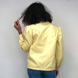 Vintage Yellow Jacket : Small : The Petite Egg Jacket