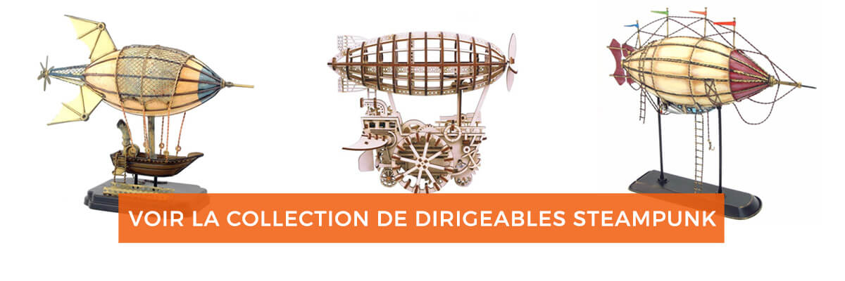Collection Dirigeables Steampunk
