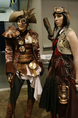 Cosplay Pirate Steampunk