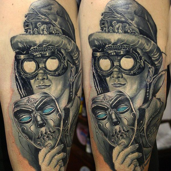 Tatouage Steampunk