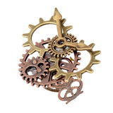 bague steampunk engrenages
