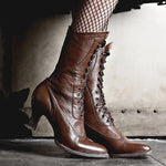 bottines victoriennes