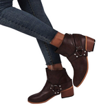 bottines victoriennes marrons