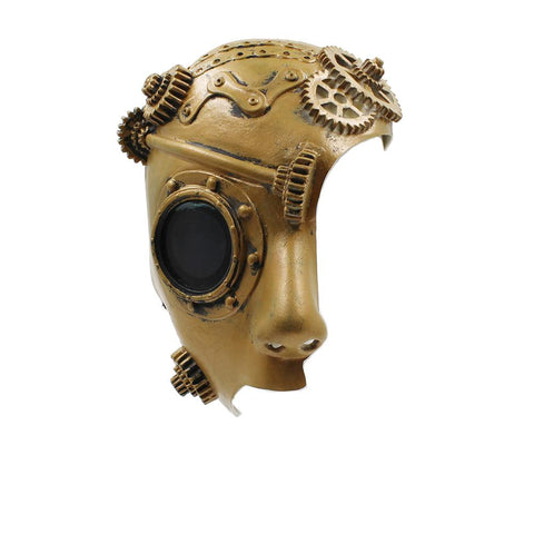 demi masque steampunk latex