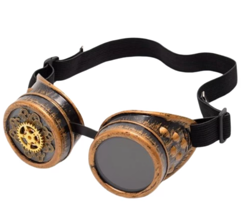 lunettes steampunk engrenages