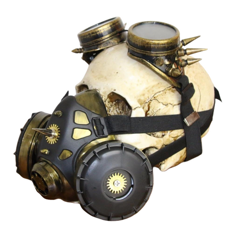 masque gaz steampunk