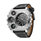 montre multi cadran