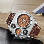 montre multi cadran steampunk