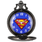 montre a gousset superman