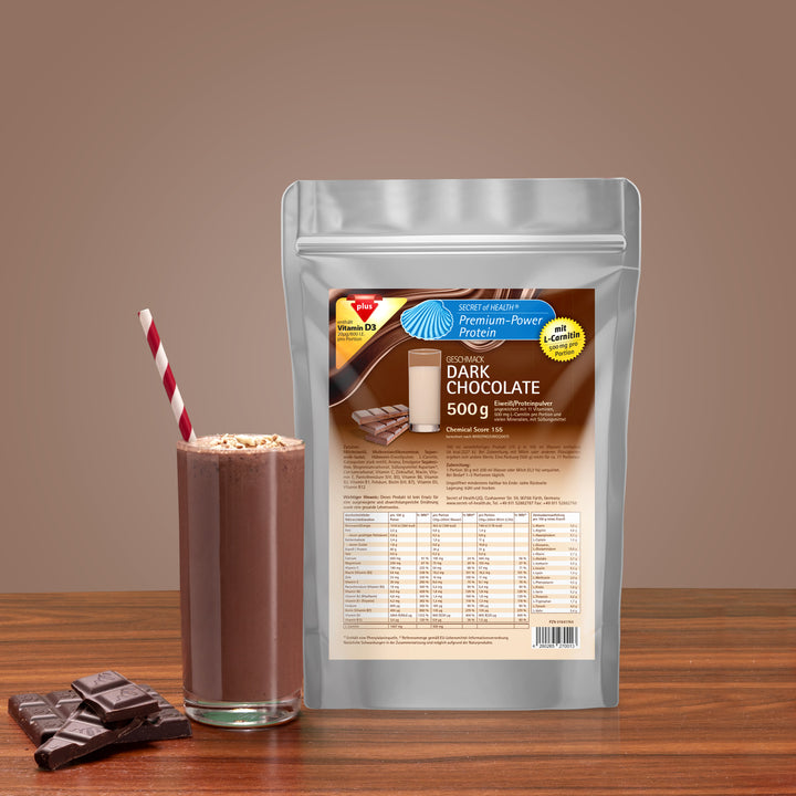 Premium Power Protein Dark Chocolate 500 g