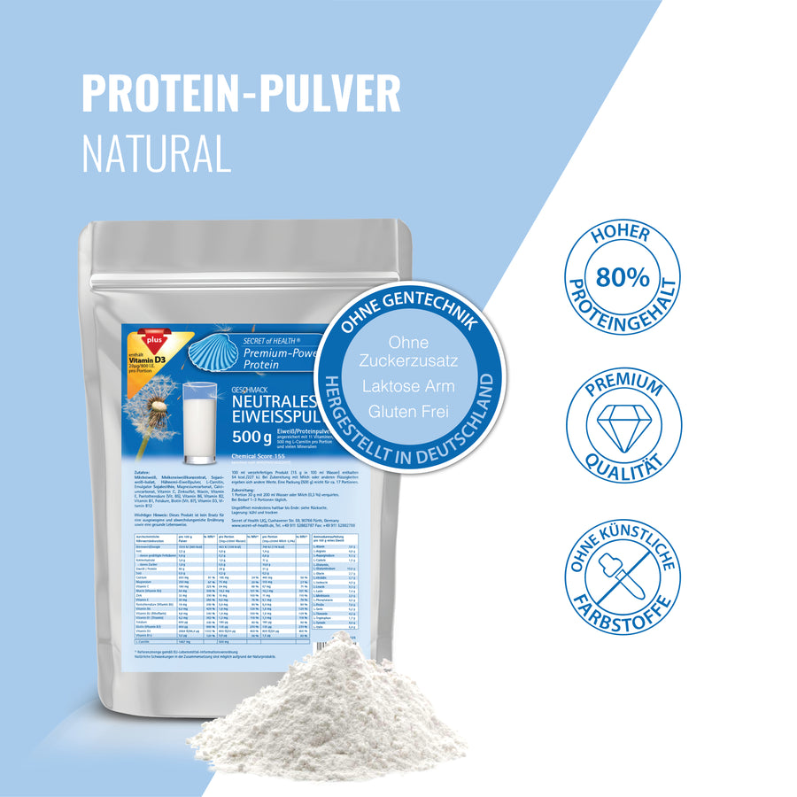 Premium Power Protein Neutral 500 g