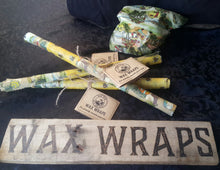Load image into Gallery viewer, Bees wax wraps- Set of three